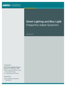 Street Lighting and Blue Light, Frequently Asked Questions